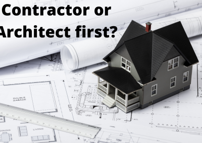 Who do I hire first? Architect or General Contractor?
