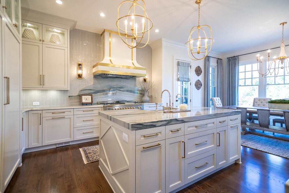 Transitional Two Island Kitchen